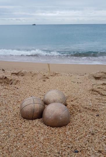 jeu de boules strand spanje